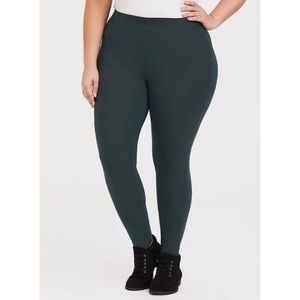🆕Torrid Dark Green Premium Legging 1X 14 16 NWT